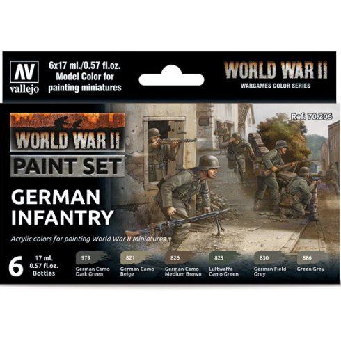 Vallejo WWII German Infantry Set