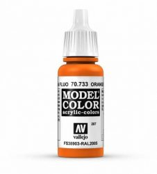 Vallejo Model Color 207 Orange Fluorescent
