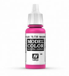 Vallejo Model Color 208 Magenta Fluorescent