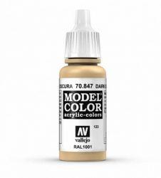 Vallejo Model Color 123 Dark Sand