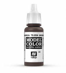 Vallejo Model Color 204 Brown Glaze