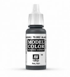 Vallejo Model Color 168 Black Grey
