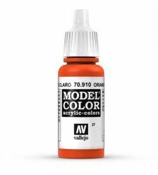 Vallejo Model Color 27 Orange Red