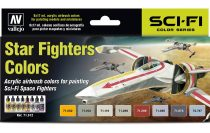 Vallejo Star Fighters Colors Set