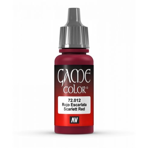 Vallejo Game Color Scarlet Red