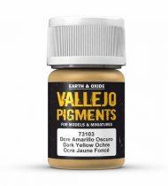Vallejo Dark Yellow Ocre Pigment