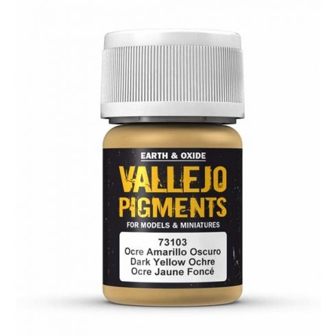 Vallejo Dark Yellow Ocre Pigment