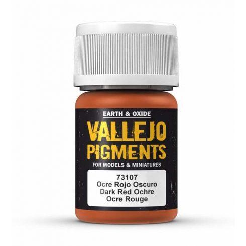 Vallejo Dark Red Ocre Pigment