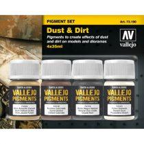 Vallejo Dust & Dirt Pigment Set