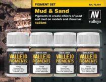 Vallejo Mud & Sand Pigment Set