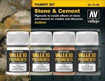 Vallejo Stone & Cement Pigment Set