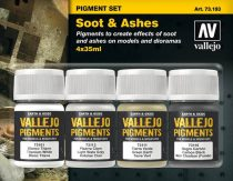 Vallejo Soot & Ashes Pigment Set