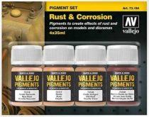 Vallejo Rust & Corrosion Pigment Set