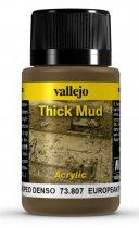 Vallejo European Thick Mud