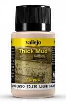 Vallejo Light Brown Thick Mud