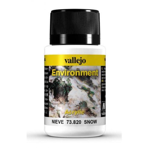 Vallejo Environment Snow