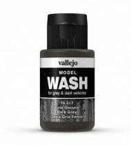 Vallejo Model Wash Dark Grey