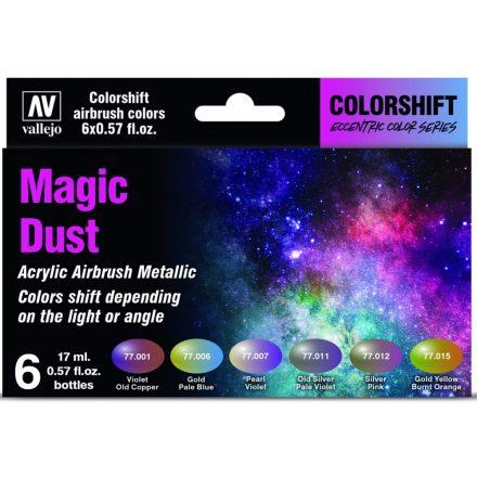 Vallejo Eccentric Colorshift Magic Dust Colors Set
