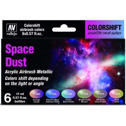 Vallejo Eccentric Colorshift Space Dust Colors Set