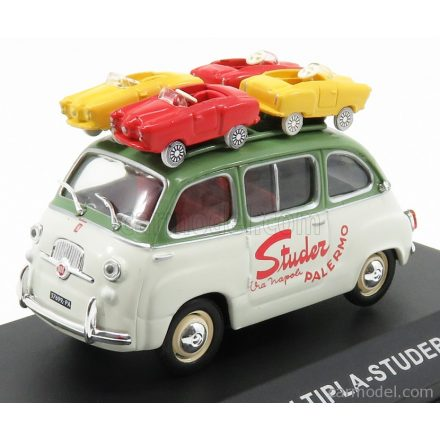 EDICOLA FIAT STUDER PALERMO WITH FOUR MICROCARS 1959
