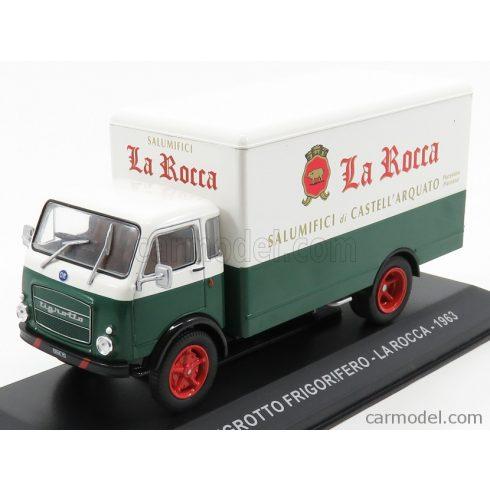 EDICOLA FIAT TIGROTTO TRUCK FRIGORIFERO LA ROCCA SALUMIFICI 1963