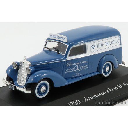 EDICOLA MERCEDES BENZ 170D VAN MERCEDES - AUTOMOTORES JUAN MANUEL FANGIO 1954