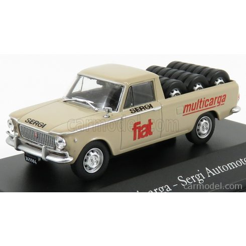 EDICOLA FIAT 1500 MULTICARGA PICK-UP - SERGI AUTOMOTORES 1965
