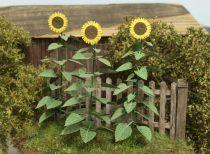 Model Scene Sunflowers