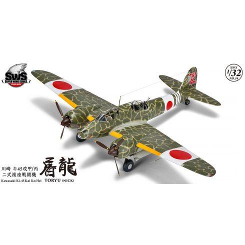 """Zoukei-Mura Kawasaki Ki-45 Kai Ko/Hei """"Toryu"""" makett"""