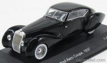 WHITEBOX DELAGE D8 120S POURTOUT AERO COUPE 1937 - BLACK