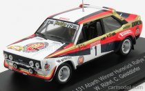 CMR FIAT 131 ABARTH TEAM VS FIAT WARSTEINER N 1 WINNER RALLY HUNSRUCK 1980 W.ROHRL - C.GEISTDORFER