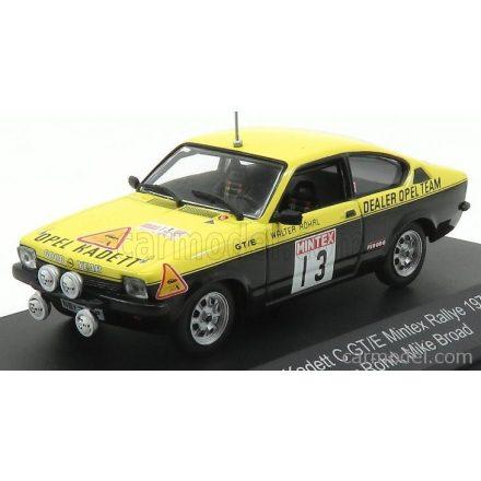 CMR OPEL KADETT C GT/E N 13 RALLY MINTEX 1977 WALTER ROHRL - MIKE BROAD
